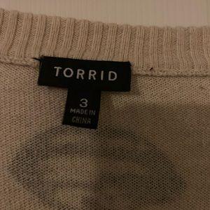 torrid Sweaters - Torrid black lips sweater